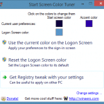 How To Set Different Colors For Start Screen And Lock Screen In Windows 8.1