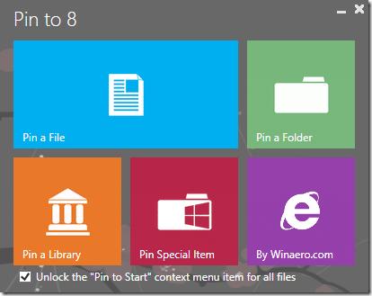 Pin Folders to Taskbar In Windows 8.1 Method1
