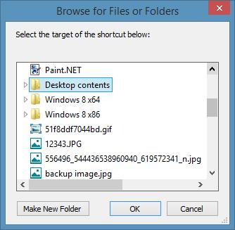 Pin Folders to Taskbar In Windows 8.1 Method2 Step2