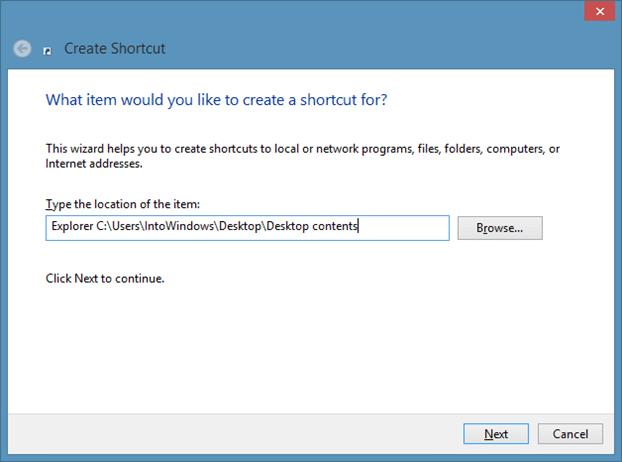 Pin Folders to Taskbar In Windows 8.1 Method2 Step3
