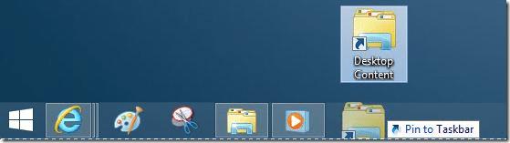 Pin Folders to Taskbar In Windows 8.1 Method2 Step5