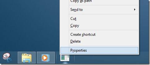 Pin Folders to Taskbar In Windows 8.1 Method3 Step4