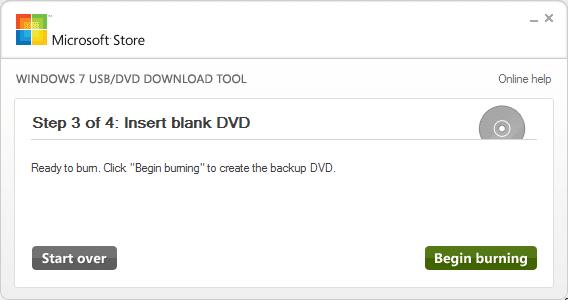 Windows 7 USB DVD Download Tool for Windows 8.1 Step9