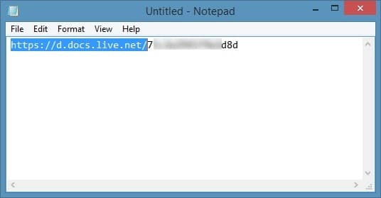 Access SkyDrive Without Microsoft Account In Windows 8.1 Step3