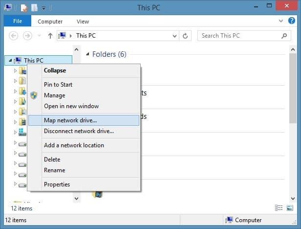 Access SkyDrive Without Microsoft Account In Windows 8.1 Step4