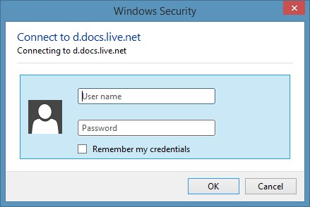 Access SkyDrive Without Microsoft Account In Windows 8.1 Step7