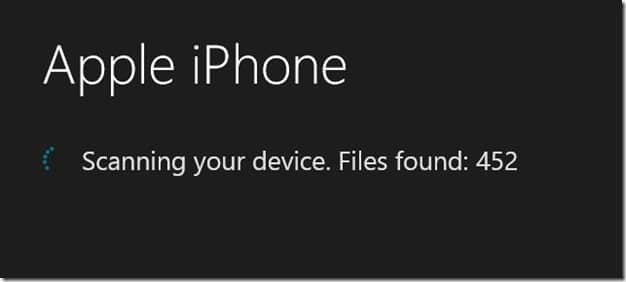 Backup iPhone Photos to PC without iTunes Step5