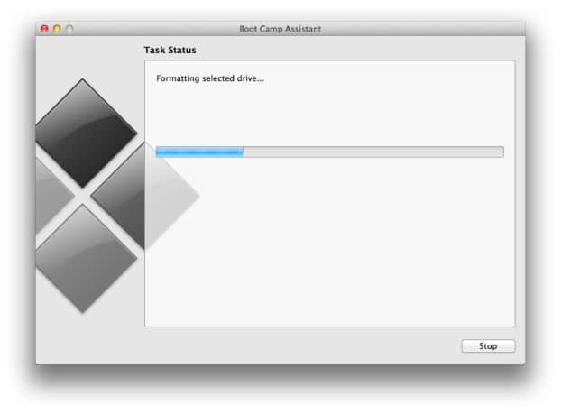 Create bootable Windows 8.1 USB on Mac Step6