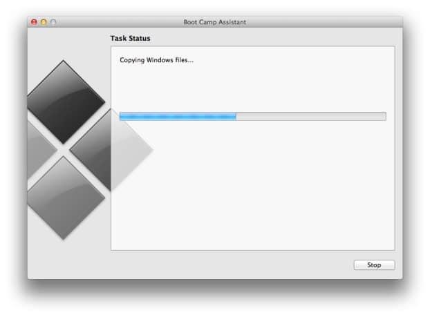 Create bootable Windows 8.1 USB on Mac Step7