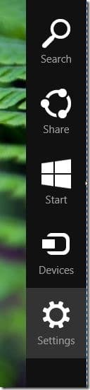 Disable or Stop wallpaper syncing in Windows 8.1 Step1