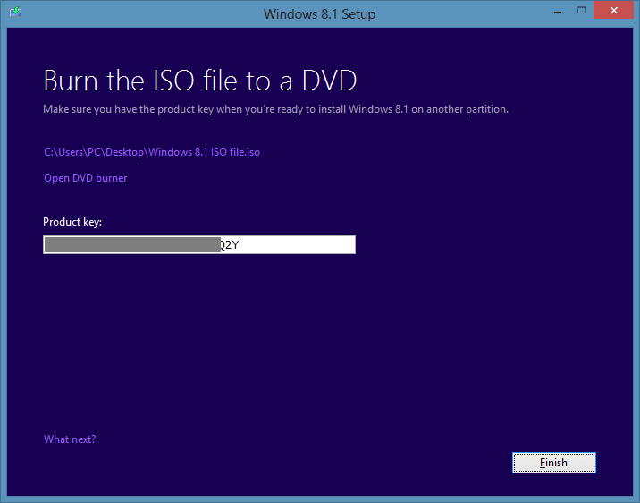 download Windows 8.1 ISO from Microsoft step10
