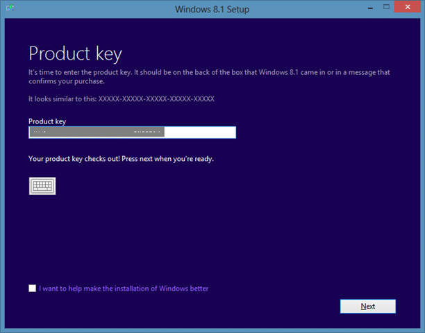 Download Windows 8.1 ISO From Microsoft Step1