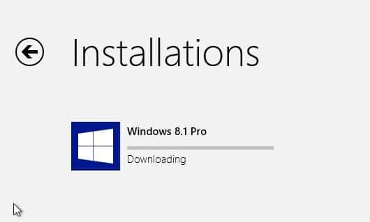 Download and install Windows 8.1 update Step3