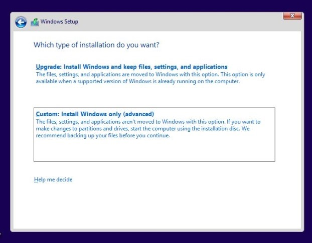 Install Windows 8.1 on SSD Step4