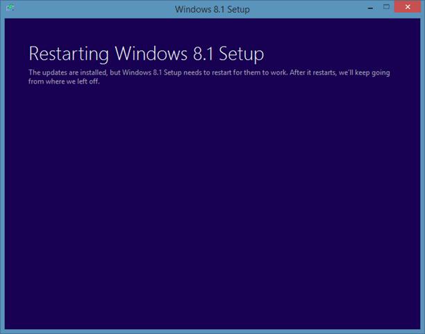 Repair Windows 8.1 installation Step2