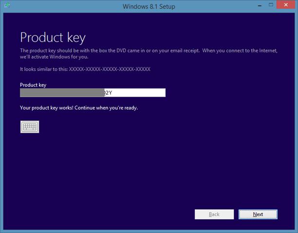 Repair Windows 8.1 installation Step3