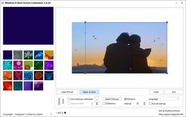 How to set animated wallpaper or video as start screen background in windows 8 1 - Set video as wallpaper ...
