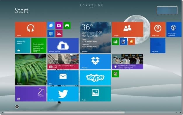 Start Screen Customizer for Windows 8.1 Picture2
