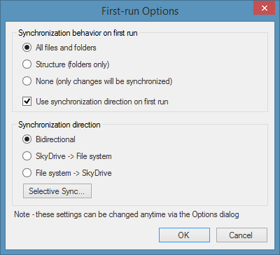 SyncDriver for SkyDrive Picture3