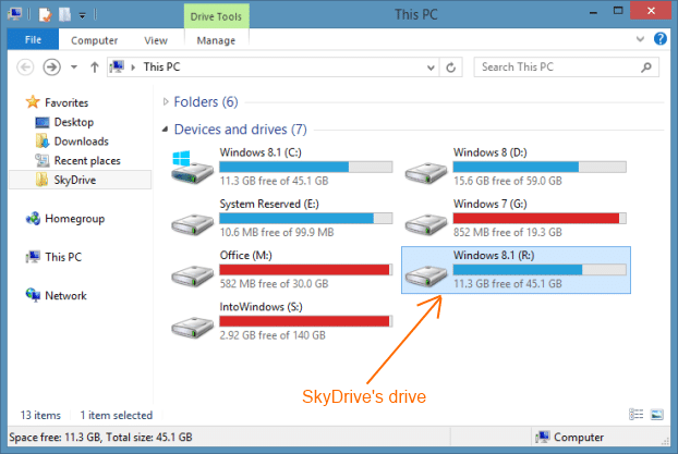 SyncDriver for SkyDrive Picture4