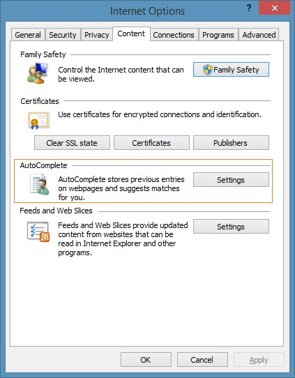 View and backup passwords in Internet Explorer step2