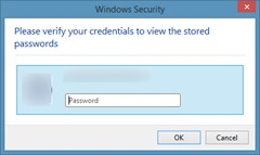 View and backup passwords in Internet Explorer step6