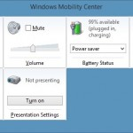 How To Open Windows Mobility Center In Windows 8.1