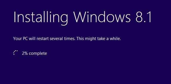 repair Windows 8.1 installation step7