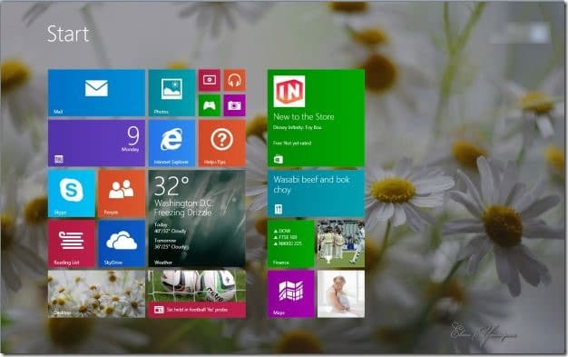Reset Windows 8.1 Start Screen to its default