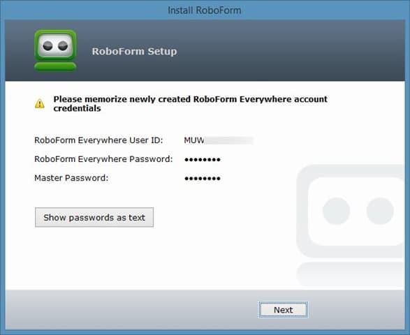RoboForm Everywhere Free4
