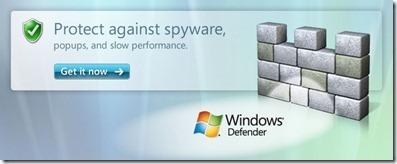 Uninstall or remove Windows Defender