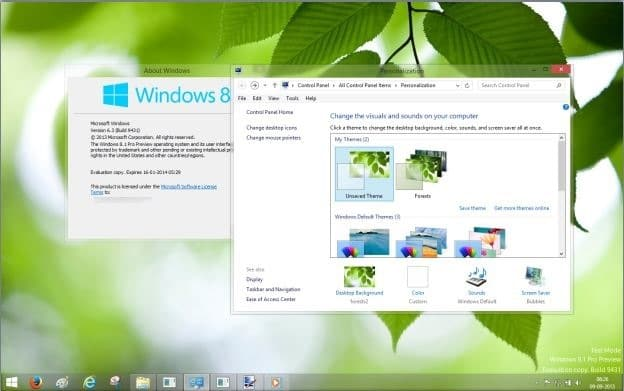 Aero Glass for Windows 8.1