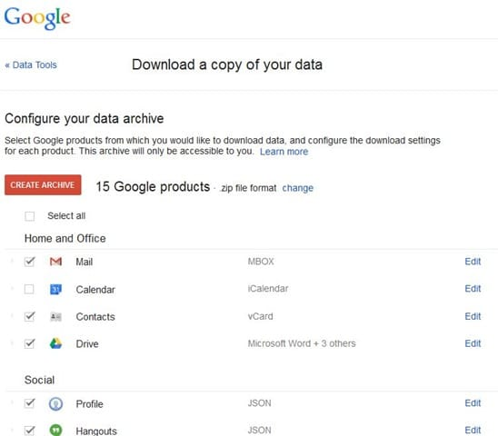 Download Gmail emails to your computer