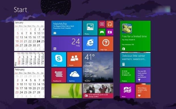 Live Calendar Tile App Adds Live Calendar To Start Screen In Windows