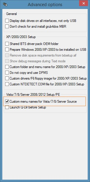 Install Windows 7 and Windows 8.1 from same USB picture1