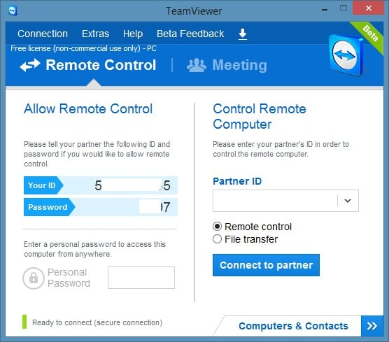 Remotely Access PC or Mac from iPhone Using TeamViewer picture44