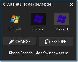 Start Button Changer