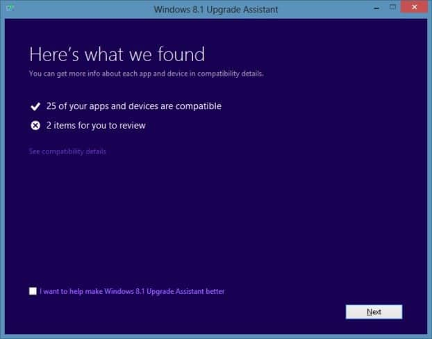 Test if your PC can run Windows 8.1