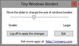 Tiny Window Borders