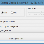 Test Bootable ISO File Without Burning Using QEMU Simple Boot