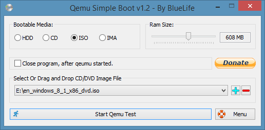 Check If Windows 10 ISO Is Bootable Using QEMU Simple Boot
