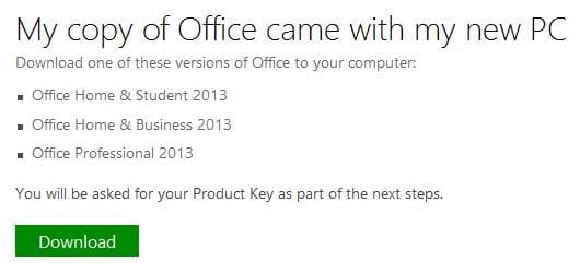 Download Office 2013 from Microsoft Using Product key picture4