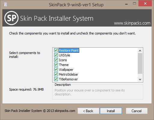 Skin Pack for Windows 8