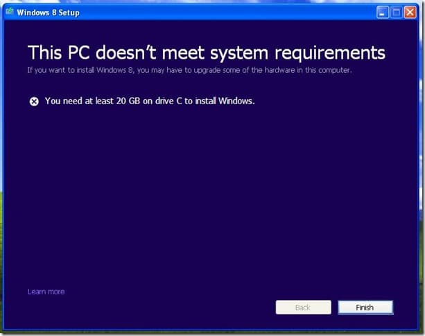 test if your Windows XP PC supports Windows 7 or 8 (2)