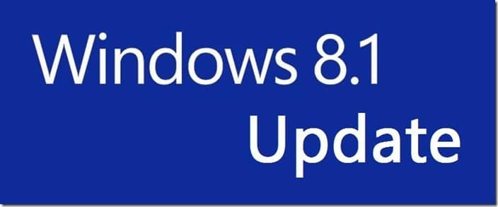 Direct Upgrade from Windows 8 Windows 8.1 Update