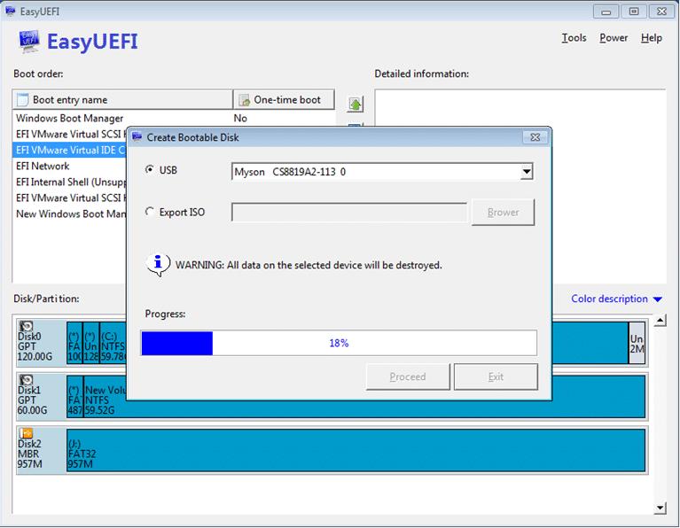 EasyUEFI for Windows 8.1