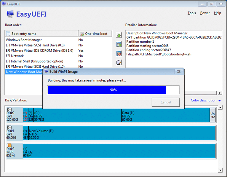EasyUEFI for Windows 8