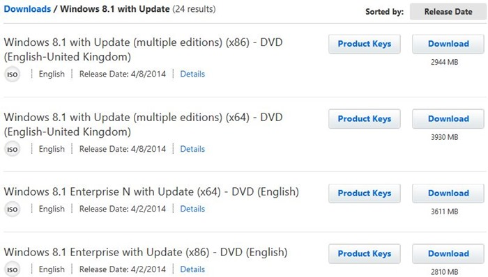 Windows 8.1 update iso file download