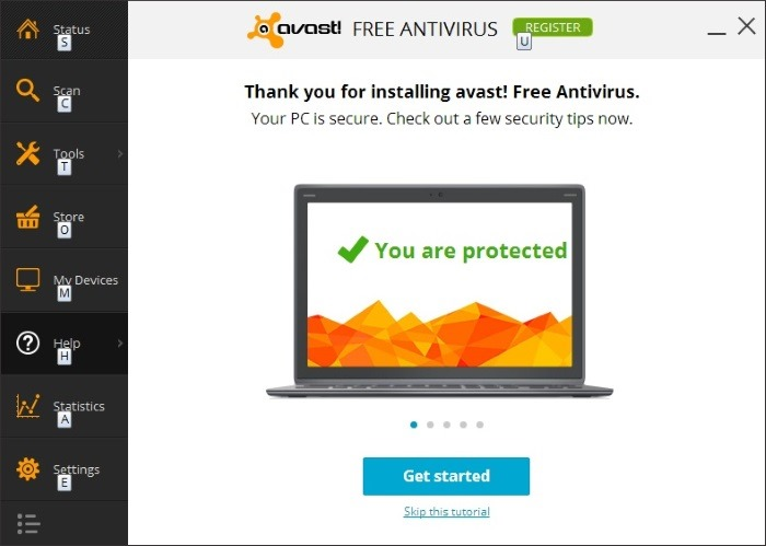 Download avast free antivirus for windows 7 Online antivirus download