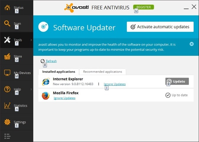 Download Avast Free Antivirus For Windows 7